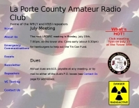 DXZone La Porte County Amateur Radio Club