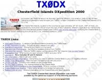 DXZone TX0DX Chesterfield Isl.