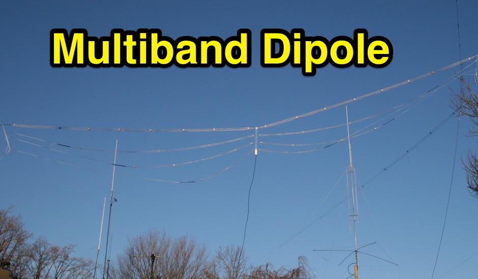 DXZone Multi Band Cage Dipole