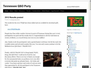 DXZone Tennessee QSO Party