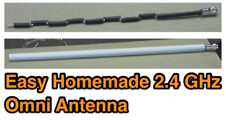 Easy 2.4 GHz Omnidirectional Antenna