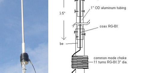 DXZone The Six Meter OCF Sleeve Dipole Vertical