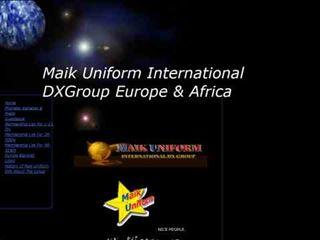 Maik Uniform International DX Group