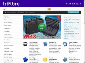 DXZone Trifibre - Flight cases manufacturer
