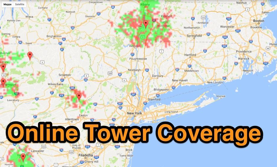 DXZone Tower Coverage