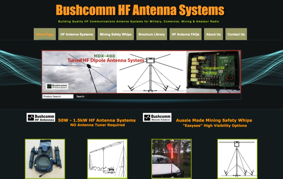 Bushcomm HF Antenna Systems