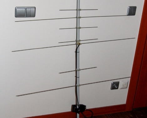 Yagi antenna for Satellite operations