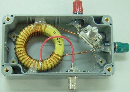 40m portable antenna tuner