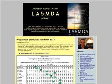 LA5MDA Norwegian Amateur Radio Station