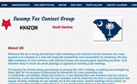 Swamp Fox Contest Group