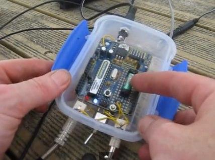 DXZone Arduino CQ Caller
