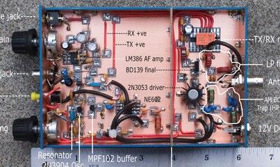 The VK3YE Micro 40 DSB Transceiver