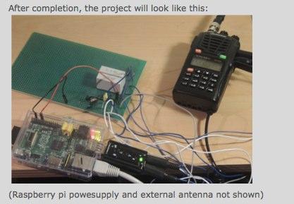 Raspberry Echolink node