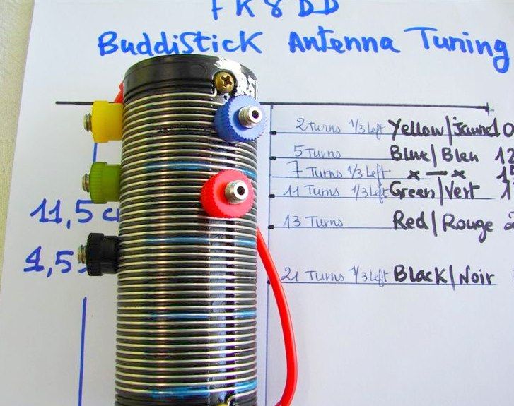 Tuning the Buddistick
