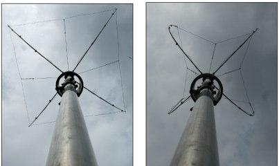 DXZone N3OX Three Meter Flex Vertical