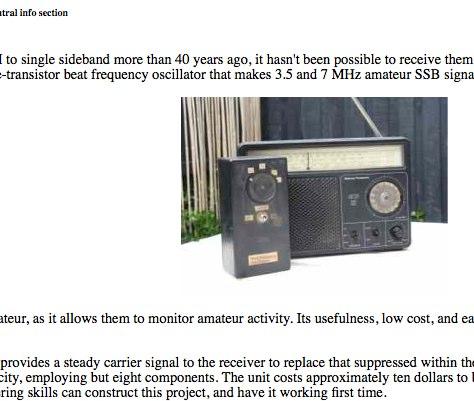 Hear amateurs on your shortwave radio