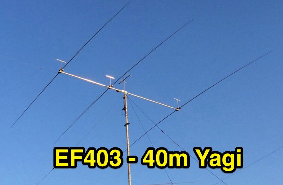 DXZone 3 element  Yagi for 40m