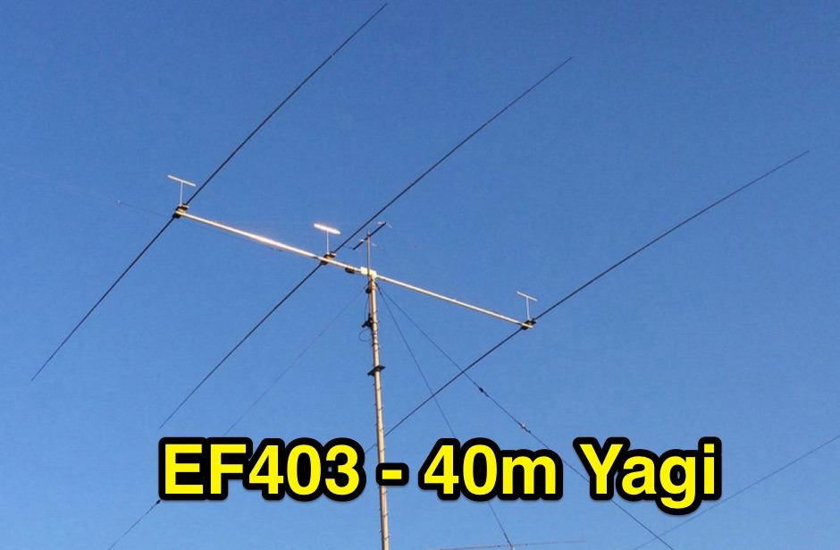 3 element  Yagi for 40m