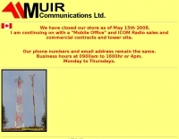 Muir Communications Ltd - Victoria BC.
