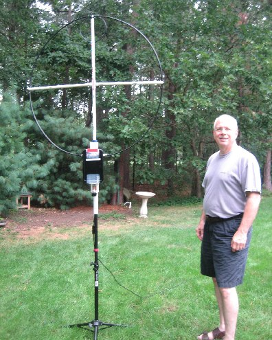 AB2EW Mag Loop Antenna