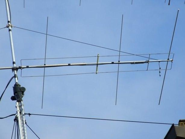 70 MHz Yamag Antenna
