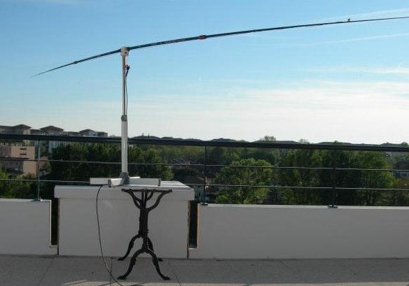 DXZone 20m mini dipole antenna