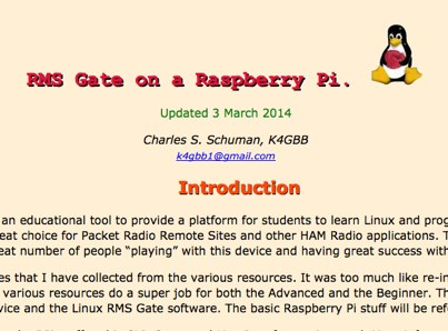 RMS Gate on a Raspberry Pi - Resource Detail - The DXZone com