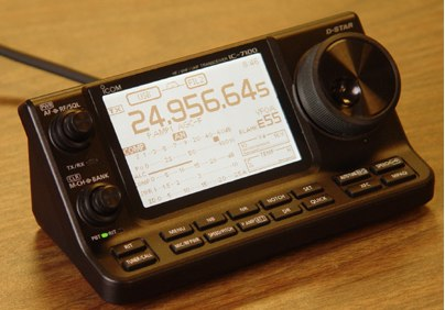 Icom IC 7100 - Raspberry Pi Remote