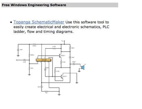 Topanga SchematicMaker