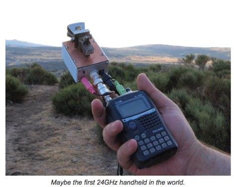 DXZone 24 GHz the old way
