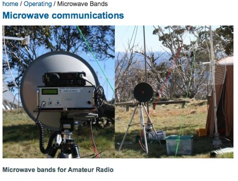DXZone Microwave communications