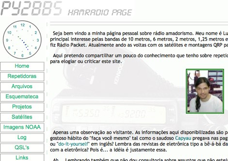 DXZone PY2BBS - Hamradio Page