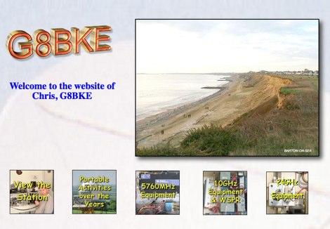 DXZone G8BKE Microwave Website