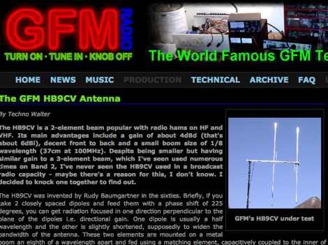 The GFM HB9CV Antenna