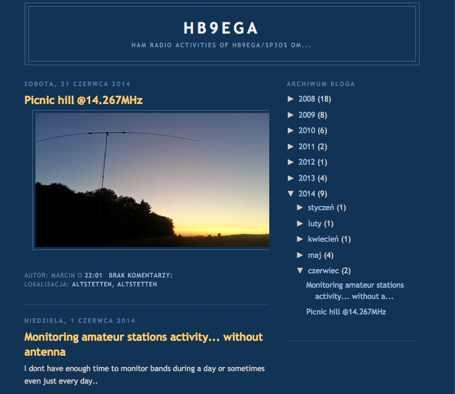 HB9EGA Blog