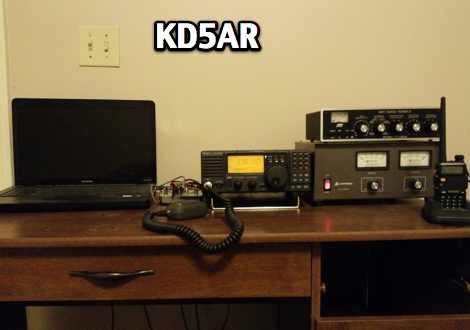 KD5AR Streaming audio