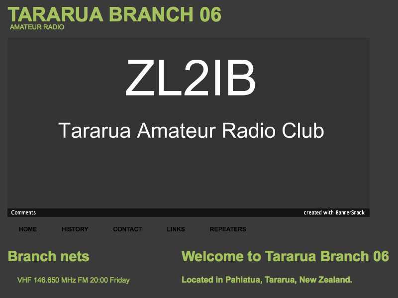 DXZone ZL2IB Tararua