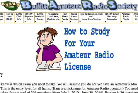 How to study for your ham radio licence