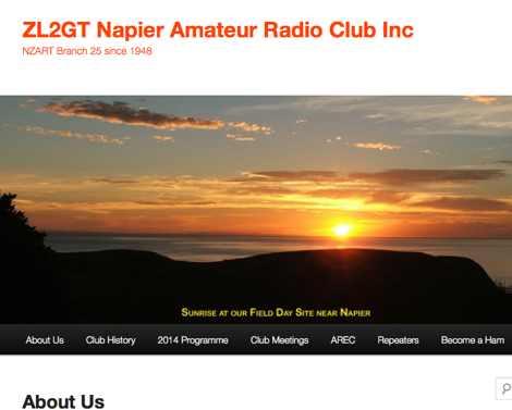 DXZone ZL2GT Napier Amateur Radio Club Inc