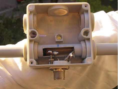 DXZone VHF Coax Dipole