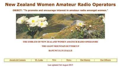 New Zealand YL Radio Club