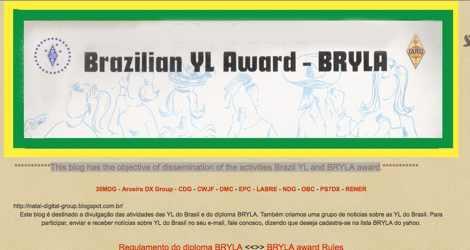 Brazilian YL