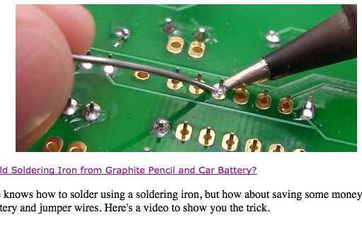 Tips And Tutorial Videos On Soldering