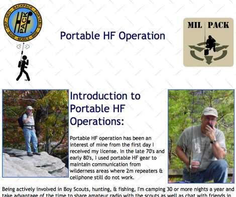 DXZone Portable HF Operation