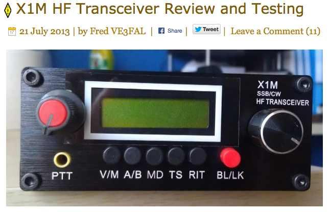 X1M Review - VE3FAL