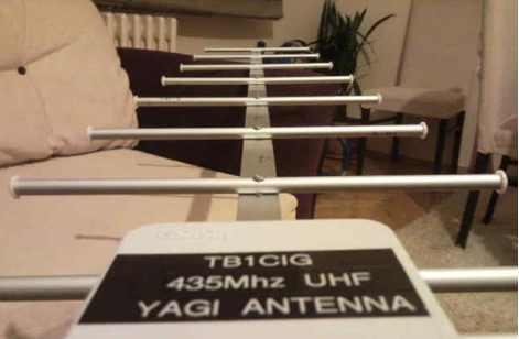 10 element UHF Yagi