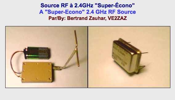 DXZone 2.4 GHz RF Source