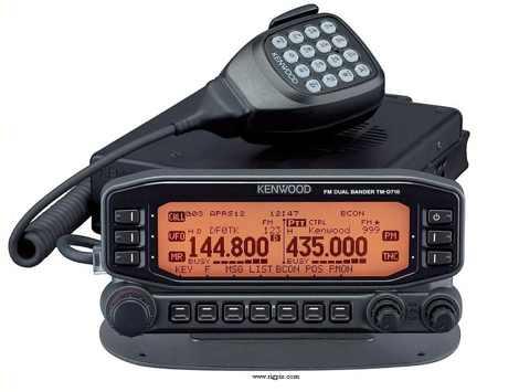 DXZone RigPix Kenwood TM-D710E