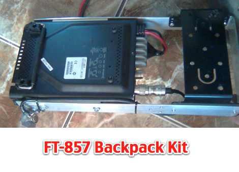 DXZone Yaesu FT-857 BackPack Kit