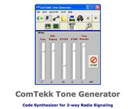 DXZone ComTekk Tone Generator